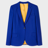 Paul Smith Women's Cobalt Blue Wool-Hopsack Blazer