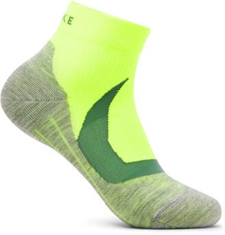 FALKE ERGONOMIC SPORT SYSTEM Ru4 Cool Melange Stretch-Knit Socks