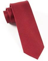 The Tie Bar Burgundy Grenafaux Tie