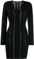 DSQUARED2 Lace-Up Detail Knitted Dress