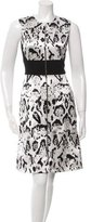 Prabal Gurung Printed Silk Dress w/ Tags