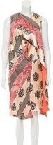 Celine Silk Floral Dress