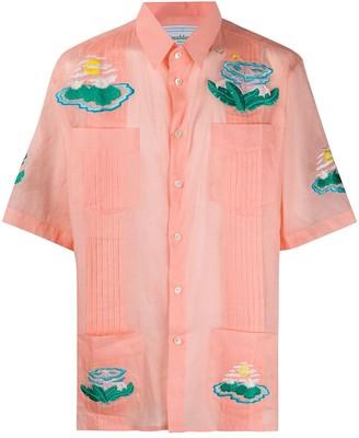 Casablanca Ocean Resort short-sleeved shirt