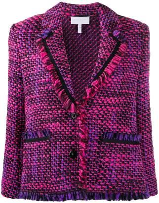 Escada Sport tweed single breasted jacket