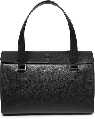 Roberto Cavalli Pebbled-leather Shoulder Bag