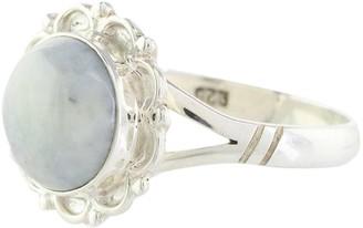 Novica Artisan Crafted Sterling Jade Ring