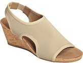 Aerosoles A2 by Heel Rest Wedge Sandals - Coffee Cake