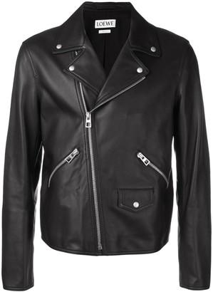 Loewe Lambskin Biker Jacket