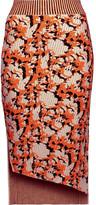 Acne Studios Jami jacquard-knit midi skirt