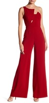 Jay Godfrey Asymmetrical One Shoulder Jumpsuit