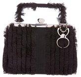 Alexander McQueen Fringe-Accented Handle Bag