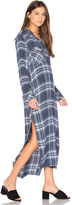 Bella Dahl Caines Long Sleeve Duster Dress