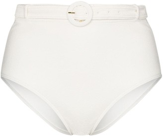 Peony Swimwear Petunia belted bikini bottoms