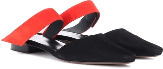 Neous Epi suede slippers