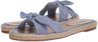 Tabitha Simmons Heli (Denim Blue Suede) Women's Sandals