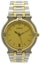 Gucci 9000M Stainless Steel & Gold Plated Metal 32mm Mens Watch