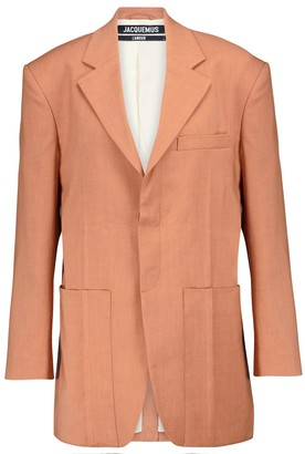 Jacquemus La Veste D'Homme hemp-blend blazer