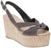 Castaner Open toe wedge sandal