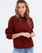 Rusty Roam Crew-Neck Knit