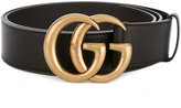 Gucci double G buckle belt - men - Calf Leather/Brass - 90