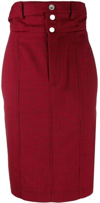 Unravel Project High-Waisted Pencil Skirt