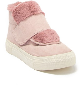 Dolce Vita Caia Faux Fur Suede Sneaker (Toddler, Little Kid, & Big Kid)