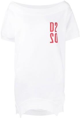 DSQUARED2 logo-print sweatshirt T-shirt
