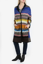 Missoni ZigZag Snake Coat