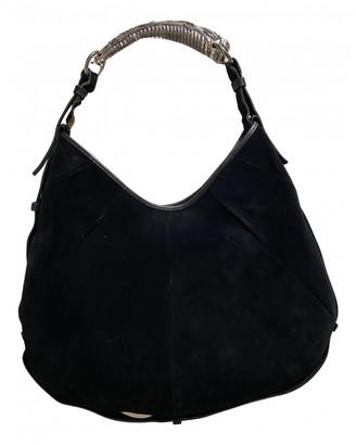 Saint Laurent Mombasa Black Suede Handbags