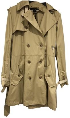 Ralph Lauren Camel Cotton Trench Coat for Women