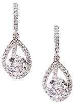 Nadri Cubic Zirconia Pave Drop Earrings