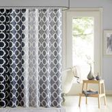 Dani Printed Shower Curtain and Hook Set - Black