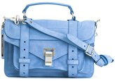 Proenza Schouler PS1 satchel - women - Calf Suede - One Size
