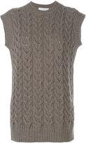 Max Mara sleeveless knitted vest