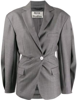 Acne Studios voluminous double-breasted blazer