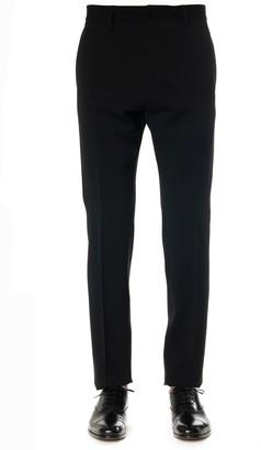 DSQUARED2 Black Wool Lapels Pants
