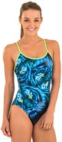 Zoggs Blue Feline Triback One Piece