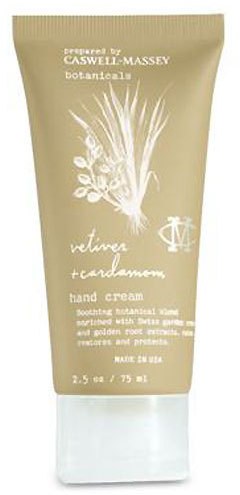 Caswell-Massey Vetiver and Cardamom Hand Cream by 2.5oz)