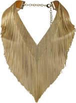 Rosantica Ambra Gold Fringe Necklace