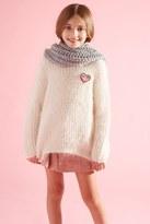 Forever 21 FOREVER 21+ Girls Heart Sweater (Kids)