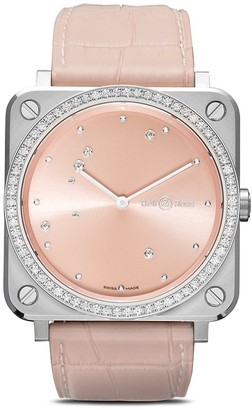 Bell & Ross BR S Pink Diamond Eagle Diamonds 39mm