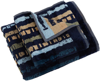Carrara - Kalum Towel - Blue - Guest & Hand Towel Set