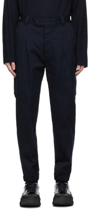 ts(s) tss Navy Cuffed Military Cargo Pants
