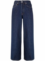 Thumbnail for your product : Rag & Bone Wide-Legged Cropped Jeans