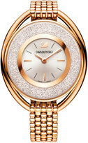 Swarovski Women's Swiss Crystalline Gold-Tone PVD Stainless Steel Watch 37mm