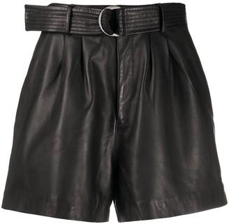 P.A.R.O.S.H. Macio belted shorts
