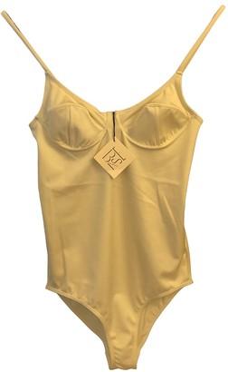Base Range Ecru Lycra Swimwear for Women
