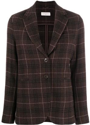 Circolo 1901 Check Single-Breasted Blazer