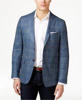 Lauren Ralph Lauren Men's Blue Glen Plaid Classic-Fit Sport Coat