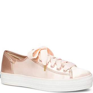 Keds Women's Triple Kick Satin Sneaker